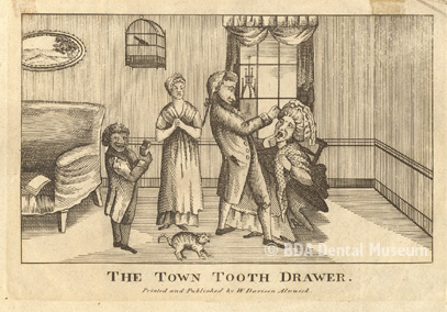 The town tooth drawer, c.1812-1817