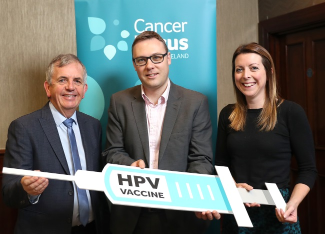 Gerry-McElwee-Tristan-Kelso-Gillian-Prue-QUB-Cancer-focus-event.jpg
