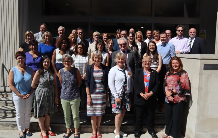 BDA CQC roundtable on older people's oral health group picture